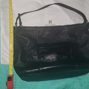 Kate Spade Leather Shimmer Hobo Purse